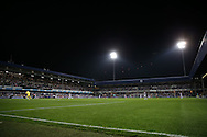 a General view of inside Loftus Road stadium during the 2nd half. EFL Skybet football league championship match, Queens Park Rangers v Newcastle Utd at Loftus Road Stadium in London on Tuesday 13th September 2016.<br /> pic by John Patrick Fletcher, Andrew Orchard sports photography.