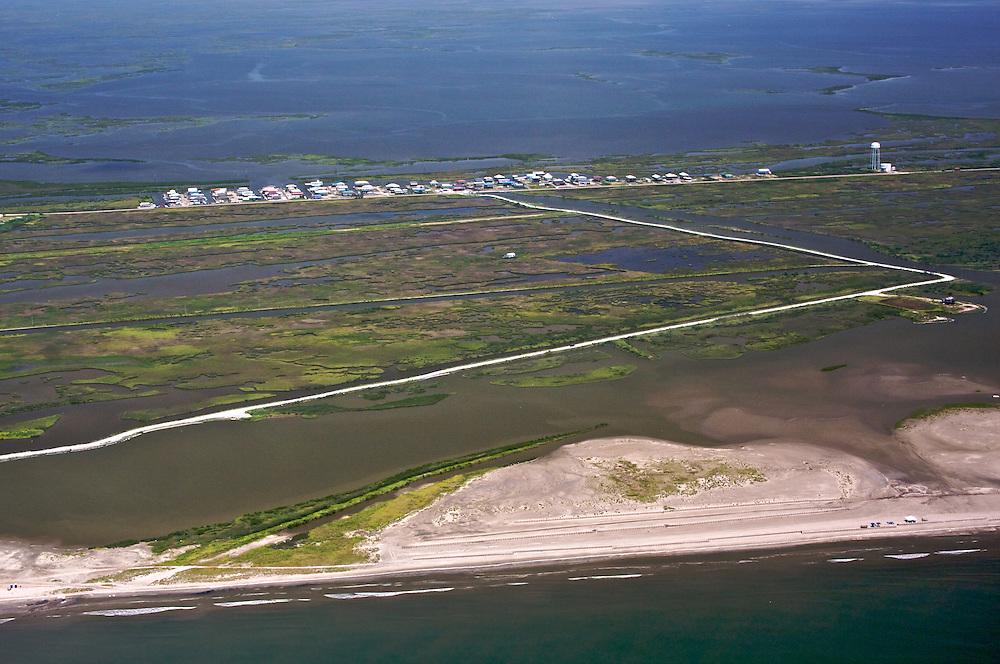 Cheniere Caminada, Louisiana, USA (View North)