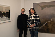 SIMON EDMONSON; PAUL BENNEY, Behind the Silence. private view  an exhibition of work by Paul Benney and Simon Edmondson. Serena Morton's Gallery, Ladbroke Grove, W10.  4 November 2015.