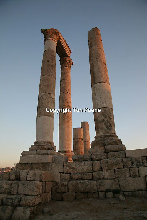 Umayyad palace of Amman, Jordan