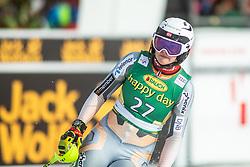 Thea Louise Stjernesund (NOR) during second run at the Ladies' Slalom at 56th Golden Fox event at Audi FIS Ski World Cup 2019/20, on February 16, 2020 in Podkoren, Kranjska Gora, Slovenia. Photo by Matic Ritonja / Sportida