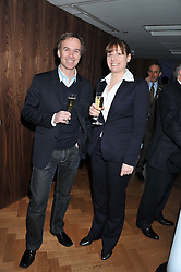 Left to right, chefs MARCUS WAREING and CHANTELLE NICHOLSON at the Grand Opening of Le Cordon Bleu's International Flagship School at 15 Bloomsbury Square, London WC1 on 7th February 2012.