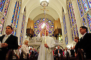 A opening processional begins a Morning Prayer at the St. James Chapel at the Archbishop Quigley Center where Chicago Archbishop Francis Cardinal George will presents the Certificates and Insignia of the Equestrian Order of St. Gregory the Great, June 23, 2012. l Brian J. Morowczynski~ViaPhotos..For use in a single edition of Catholic New World Publications, Archdiocese of Chicago. Further use and/or distribution may be negotiated separately. ..Contact ViaPhotos at 708-602-0449 or email brian@viaphotos.com.