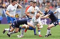 Sergio Parisse Italy<br /> Roma 17-03-2018, Stadio Olimpico<br /> Rugby 6 Nations Tournament <br /> Italia - Scozia / Italy - Scotland<br /> <br /> Foto Antonietta Baldassarre Insidefoto