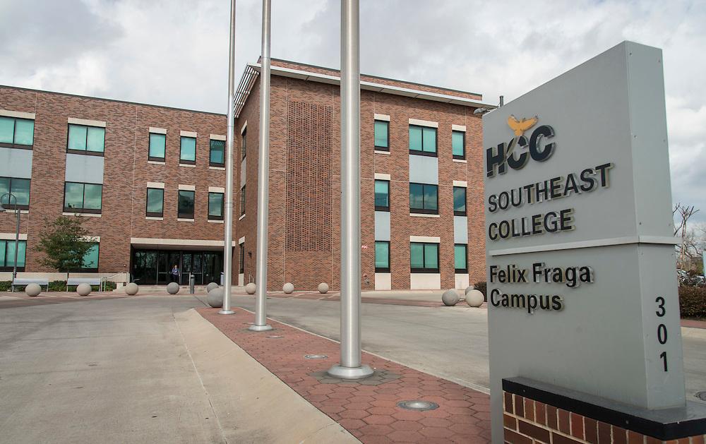Middle College High School at HCC Felix Fraga, February 1, 2017.
