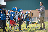 Lacrosse pro Tom Schreiber gives instruction before running drills with the Jackson Hole Lacrosse Club on Oct. 1. Schreiber, one of the top lacrosse players in the world, was selected 1st overall in the 2014 Major League Lacrosse draft by the Ohio Machine. He was named Major League Lacrosse MVP the 2016 and 2017 while leading the Machine to the MLL championship game in both seasons, winning the championship in 2017.