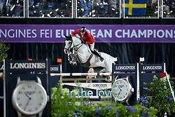 Fuchs Martin, SUI, Clooney<br /> FEI European Jumping Championships - Goteborg 2017 <br /> © Hippo Foto - Dirk Caremans