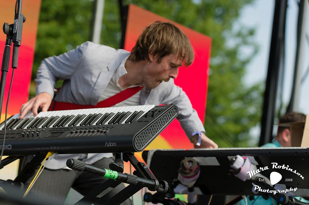 Batles at Pitchfork Music Festival 2011