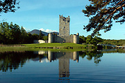 Ross Castle, home of the O'Donoghue Clan on Lough Lein Killarney. Regarded as the last fortress in ireland to fall to Oliver Cromwell in the 16th century.<br /> Picture by Don MacMonagle