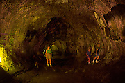 Thurston Lava Tube, Kilauea Volcano, HVNP, Island of Hawaii<br />