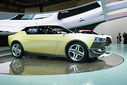 Nissan IDx Freeflow concept car at Tokyo Motor Show 2013 in Japan