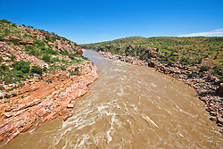The Fitzroy River rushes down Sir John Gorge on Old Mornington Station.