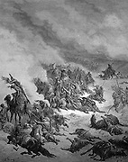 gustave Dore crusades crusade against the moors of granada