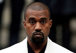 File photo dated 20/02/15 of Kanye West, who has reportedly been admitted to hospital for exhaustion, a day after cancelling his tour.