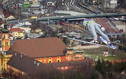 03.01.2013, Bergisel Schanze, Innsbruck, AUT, FIS Ski Sprung Weltcup, 61. Vierschanzentournee, Training, im Bild Martin Schmitt (GER) // Martin Schmitt of Germany during practice Jump of 61th Four Hills Tournament of FIS Ski Jumping World Cup at the Bergisel Schanze, Innsbruck, Austria on 2013/01/03. EXPA Pictures © 2012, PhotoCredit: EXPA/ Juergen Feichter