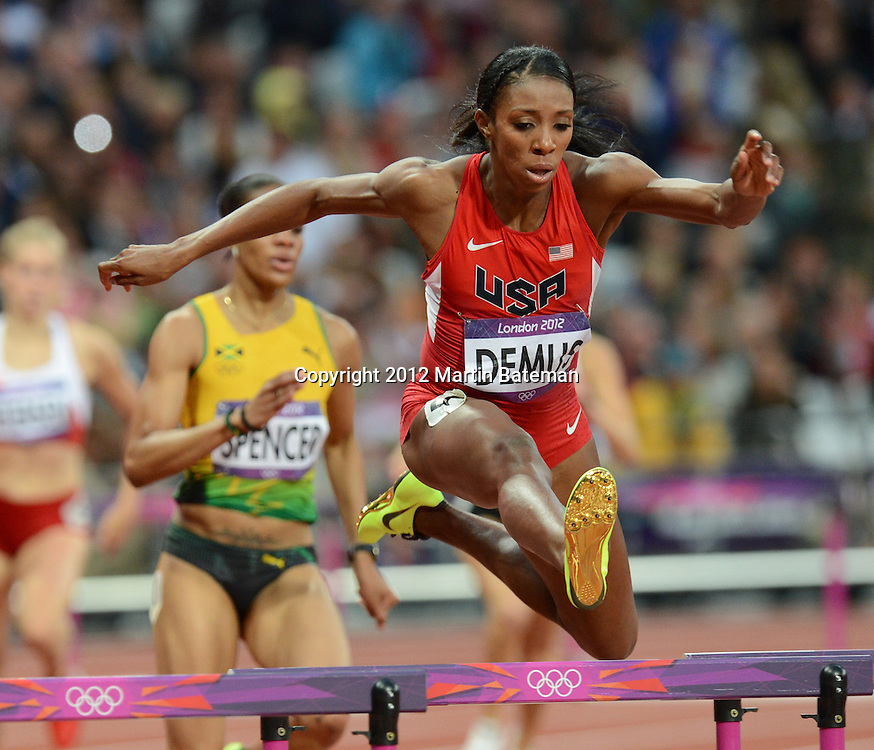 Lashinda Demus in the women's 400m hurdles