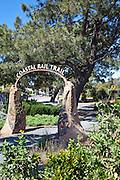 Coastal Rail Trail in Solana Beach California