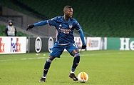 Nicolas Pepe of Arsenal with during the Europa League Group B match between Dundalk and Arsenal at Aviva Stadium, Dublin, Republic of Ireland on 10 December 2020.