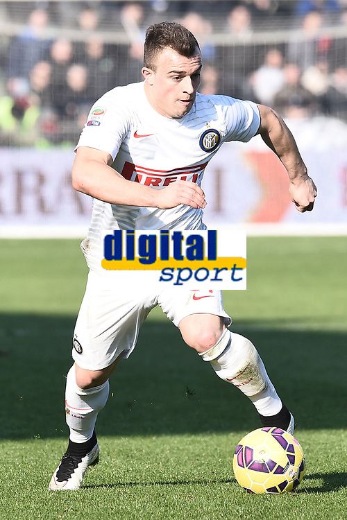 Xherdan Shaqiri Inter <br /> Reggio Emilia 01-02-2015 Mapei Stadium Football Calcio Serie A 2014/2015 Sassuolo - Inter foto Image Sport / Insidefoto
