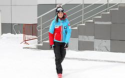 12.12.2015, Nordic Center, Nizhny Tagil, RUS, FIS Weltcup Ski Sprung, Nizhny Tagil, Damen, im Bild Elisabeth Raudaschl (AUT) // Elisabeth Raudaschl of Austria during Ladies Skijumping Competition of FIS Skijumping World Cup at the Nordic Center in Nizhny Tagil, Russia on 2015/12/12. EXPA Pictures © 2015, PhotoCredit: EXPA