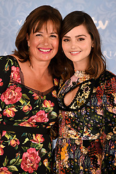 Daisy Goodwin (left) and Jenna Coleman attending the Season 2 Premiere of ITV's Victoria held at the Ham Yard Hotel, London. Picture date: Thursday 24th August, 2017. Photo credit should read: Doug Peters/EMPICS Entertainment