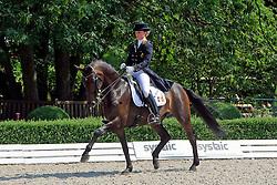 Brison Saidja (BEL) - Moliere 16<br /> European Championship Young Riders 2010<br /> © Hippo Foto - Leanjo de Koster