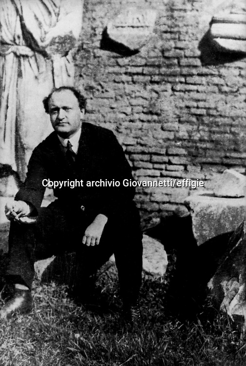 Federigo Tozzi<br />archivio Giovannetti/effigie