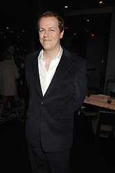 TOM PARKER-BOWLES at the opening of Marco the new Marco Pierre White restaurant at Stamford Bridge, Fulham Road, London on 25th September 2007.<br />