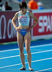 31.07.2010, Olympic Stadium, Barcelona, ESP, European Athletics Championships Barcelona 2010, im Bild Kristina Zumen SLO. GER EXPA Pictures © 2010, PhotoCredit: EXPA/ nph/ . Ronald Hoogendoorn+++++ ATTENTION - OUT OF GER +++++