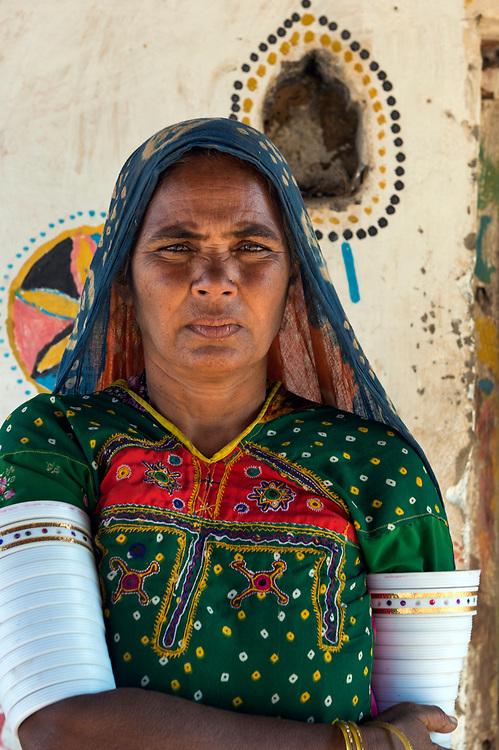 Rabari woman,Kutch,near Bhuj, Gujarat