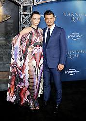 Cara Delevingne and Orlando Bloom at the Los Angeles premiere of Amazon's 'Carnival Row' held at the TCL Chinese Theatre in Hollywood, USA on August 21, 2019.
