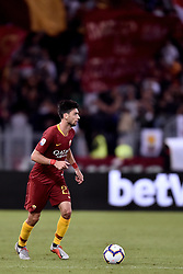 September 26, 2018 - Rome, Rome, Italy - Javier Pastore of AS Roma during the Serie A match between Roma and Frosinone at Stadio Olimpico, Rome, Italy on 26 September 2018. (Credit Image: © Giuseppe Maffia/NurPhoto/ZUMA Press)