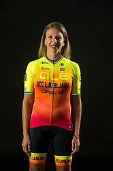 Tatiana Guderzo of Alé BTC Ljubljana, professional women cycling team, on November 15, 2019 in Ljubljana, Slovenia. Photo by Sportida
