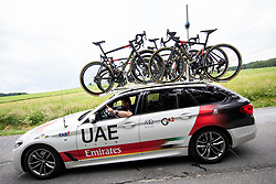 Andrej Hauptman of UAE TEAM EMIRATES during 1st Stage of 27th Tour of Slovenia 2021 cycling race between Ptuj and Rogaska Slatina (151,5 km), on June 9, 2021 in Slovenia. Photo by Vid Ponikvar / Sportida