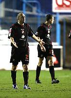 Photo: Paul Greenwood/Sportsbeat Images.<br />Carlisle United v Swindon Town. Coca Cola League 1. 04/12/2007.<br />Reaction from Swindon's Jack Smith