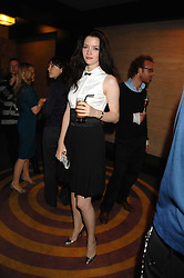 Actress TALULAH RILEY at a party to celebrate the launch of the new purple Sony Ericsson K770i phone held at the Bloomsbury Ballroom, Bloomsbury Square, London on 24th October 2007.<br /><br />NON EXCLUSIVE - WORLD RIGHTS