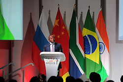25-07-18 Sandton, Johannesburg. 10th BRICS Summit held at the Sandton Convention Centre. South African Deputy President David Mabuza gives the closing remarks. Picture: Karen Sandison/African News Agency (ANA)