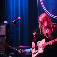 Slow Club perform live at Manchester's Band on the Wall, 2016-10-28