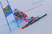 SOELDEN, AUSTRIA. OCTOBER 17 2020:  1st Women's Giant Slalom as part of the Alpine Ski World Cup in Solden on October 17, 2020; Run 1, Michelle Gisin (SUI) ( Pierre Teyssot/ESPA Images-Image of Sport)