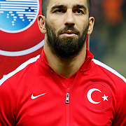 Turkey's Arda Turan during their UEFA Euro 2016 qualification Group A soccer match Turkey betwen Kazakhstan at AliSamiYen Arena in Istanbul November 16, 2014. Photo by Kurtulus YILMAZ/TURKPIX