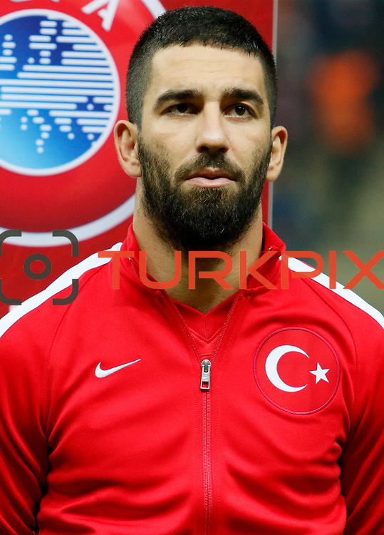 Turkey's Arda Turan during their UEFA Euro 2016 qualification Group A soccer match Turkey betwen Kazakhstan at AliSamiYen Arena in Istanbul November 16, 2014. Photo by Kurtulus YILMAZ/TURKPIX