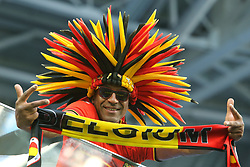 July 14, 2018 - St. Petersburg, Russia - July 14, 2018, St. Petersburg, FIFA World Cup 2018, Football match for the third place in the World Cup. Football match of Belgium - England at the stadium of St. Petersburg. Fans. (Credit Image: © Russian Look via ZUMA Wire)