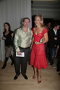 Daniel Sparrow and Kate Pakenham, Party after the opening at the Old Vic of 'All About My Mother' based on the film by Pedro Almodovar. The Sanderson Hotel. Berners St. London. 4 September 2007. -DO NOT ARCHIVE-© Copyright Photograph by Dafydd Jones. 248 Clapham Rd. London SW9 0PZ. Tel 0207 820 0771. www.dafjones.com.