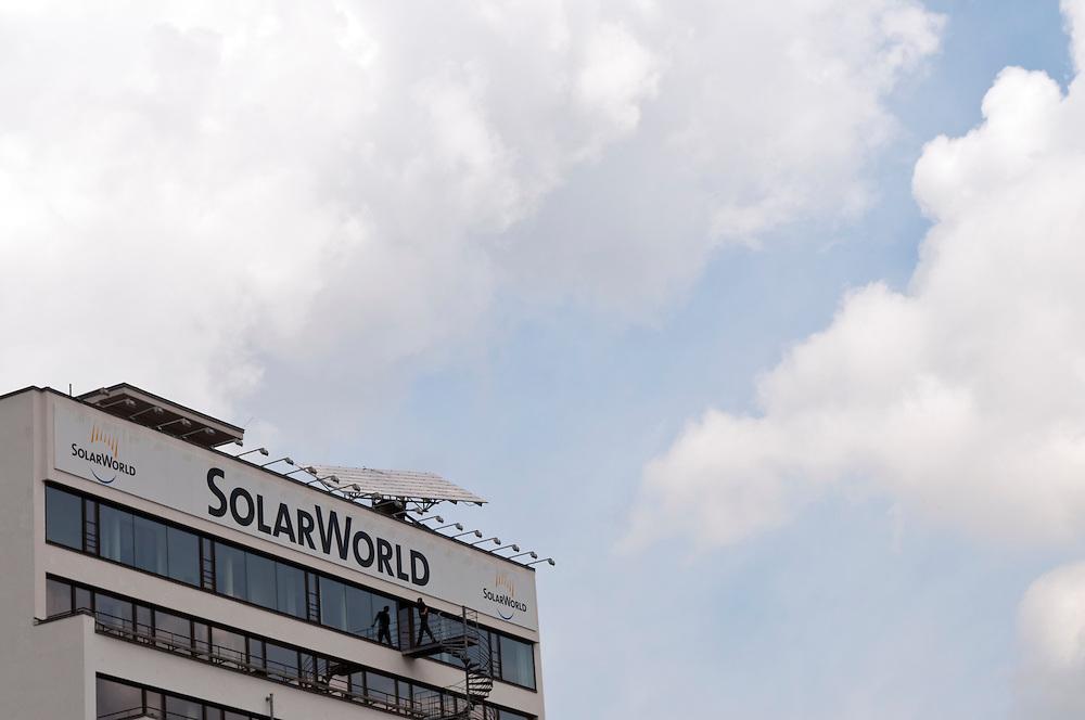 Deutschland,NRW,Bonn, Sitz der Firma SolarWorld |  Solar World, Solarworld, Germany, Bonn