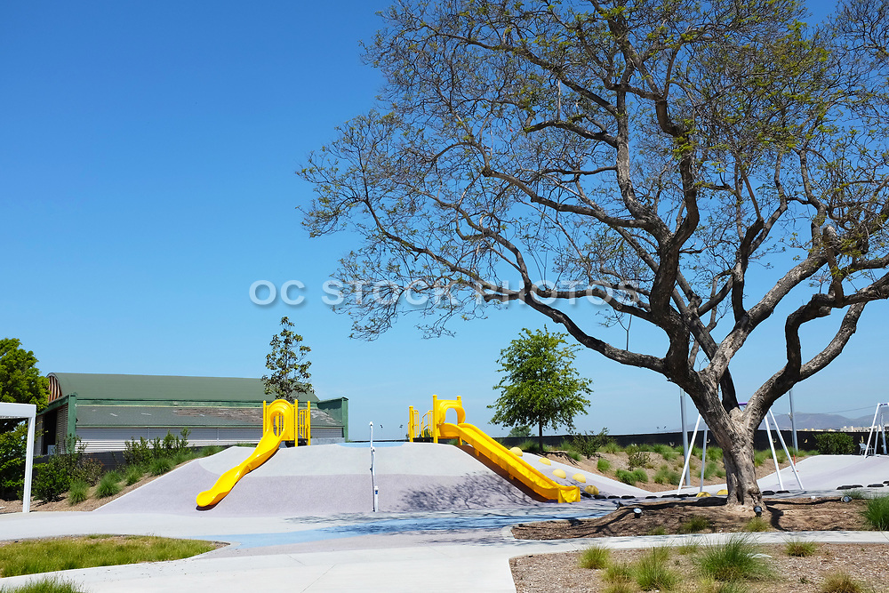 The Orange County Great Park Children's Play Area
