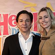 NLD/Amsterdam/20150201 - Premiere Heerlijk duurt het Langst, Spiros en partner