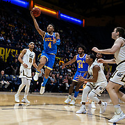 Feb 13  2019 Berkeley, CA  U.S.A.  UCLA Bruins guard Jaylen Hands (4) drives to the basket during the NCAA Men's Basketball game between UCLA Bruins and the California Golden Bears 75-67 overtime win at Hass Pavilion Berkeley Calif.  Thurman James / CSM