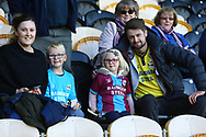 Scunthorpe fans during the EFL Sky Bet League 1 match between Burton Albion and Scunthorpe United at the Pirelli Stadium, Burton upon Trent, England on 29 September 2018.