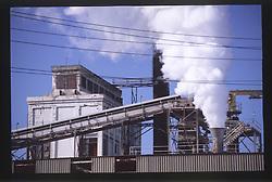 Paper Mill, Port Angeles, Olympic Peninsula, Washington, US