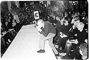 Bill Cunningham New York fashion week, 1995 © Copyright Photograph by Dafydd Jones 66 Stockwell Park Rd. London SW9 0DA Tel 020 7733 0108 www.dafjones.com